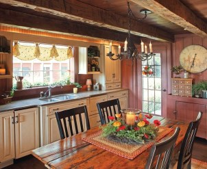 Extraordinary County Rustic Kitchen Ideas For Inspiration21