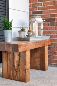 Fabulous Diy Outdoor Bench Ideas For Your Home Garden13