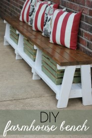 Fabulous Diy Outdoor Bench Ideas For Your Home Garden20