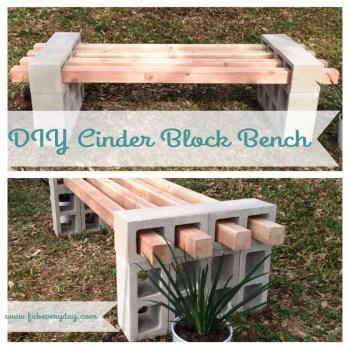 Fabulous Diy Outdoor Bench Ideas For Your Home Garden30