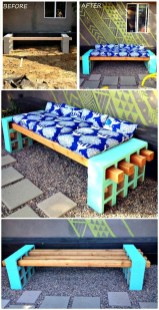 Fabulous Diy Outdoor Bench Ideas For Your Home Garden35