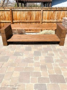 Fabulous Diy Outdoor Bench Ideas For Your Home Garden36