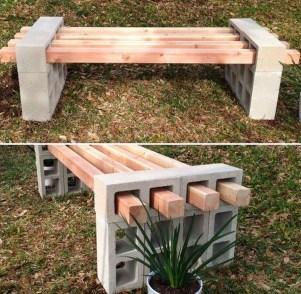 Fabulous Diy Outdoor Bench Ideas For Your Home Garden40