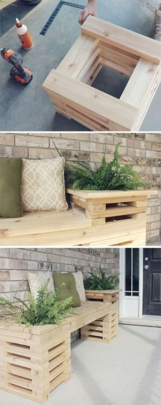 Fabulous Diy Outdoor Bench Ideas For Your Home Garden45