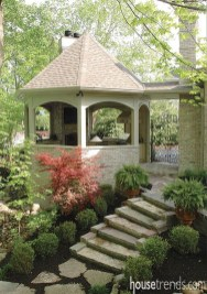 Impressive Gazebo Design Inspiration For Minimalist Garden03