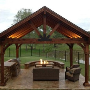 Impressive Gazebo Design Inspiration For Minimalist Garden16