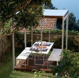 Impressive Gazebo Design Inspiration For Minimalist Garden22