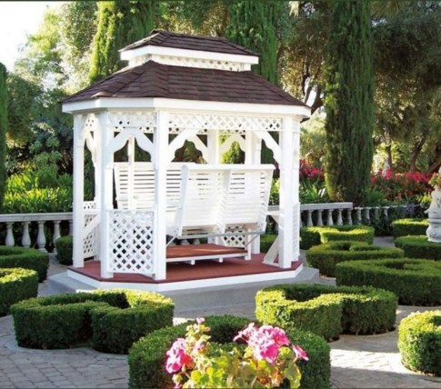 Impressive Gazebo Design Inspiration For Minimalist Garden24