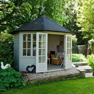 Impressive Gazebo Design Inspiration For Minimalist Garden34
