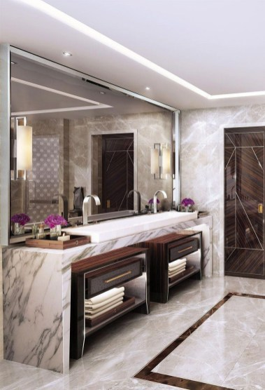 Luxury Bathroom Decoration Ideas For Enjoying Your Bath37