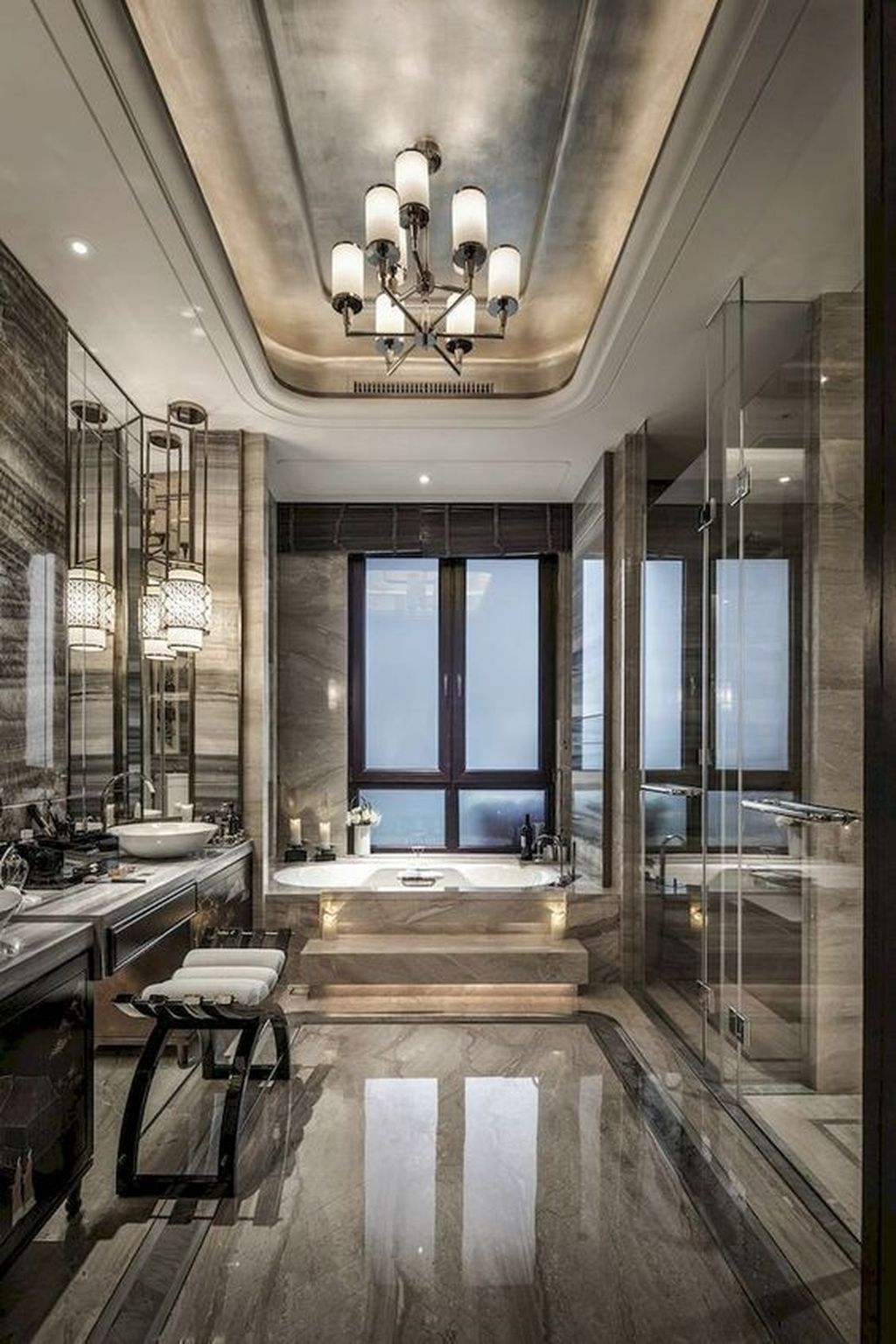 Luxury Bathroom Decoration Ideas For Enjoying Your Bath44
