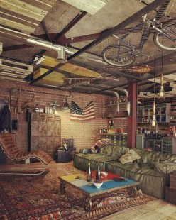 The Best Decorations Industrial Style Living Room That Will Amaze Your Guests11