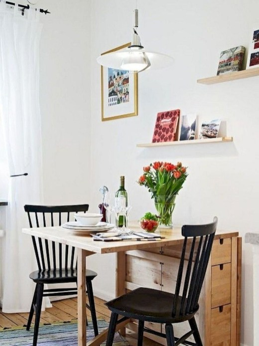 The Most Effective Tiny Dining Room Design Ideas40