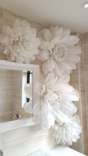 Amazing Diy Flower Wall Decoration For You Try03