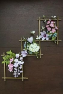 Amazing Diy Flower Wall Decoration For You Try05