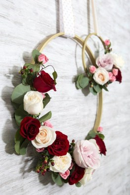 Amazing Diy Flower Wall Decoration For You Try07