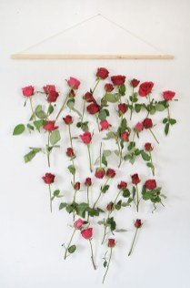 Amazing Diy Flower Wall Decoration For You Try10