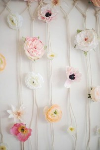 Amazing Diy Flower Wall Decoration For You Try23