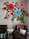 Amazing Diy Flower Wall Decoration For You Try24
