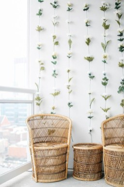 Amazing Diy Flower Wall Decoration For You Try34