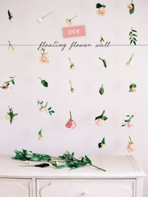 Amazing Diy Flower Wall Decoration For You Try35