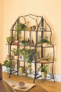 Awesome Diy Plant Shelf Design Ideas To Organize Your Garden39