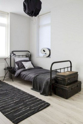 Awesome Industrial Style Bedroom Design Ideas09