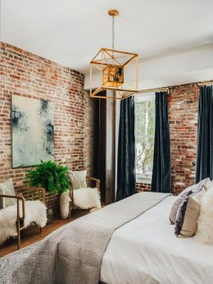 Awesome Industrial Style Bedroom Design Ideas31