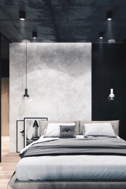 Awesome Industrial Style Bedroom Design Ideas34
