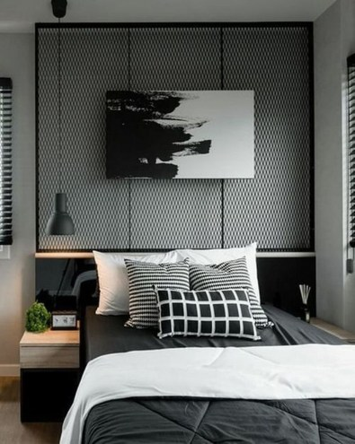 Awesome Industrial Style Bedroom Design Ideas46