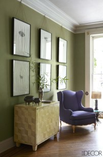 Awesome Living Room Green And Purple Interior Color Ideas29