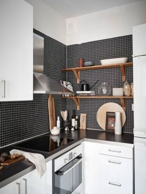 Best Monochrome Kitchen Theme Ideas For Decoration15