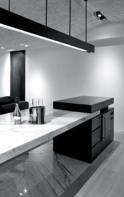 Best Monochrome Kitchen Theme Ideas For Decoration17