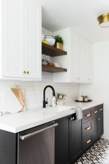Best Monochrome Kitchen Theme Ideas For Decoration30
