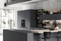 Best Monochrome Kitchen Theme Ideas For Decoration36