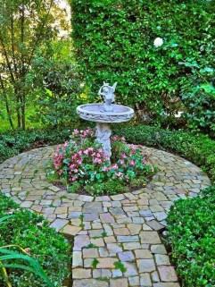 Bird Bath Design Ideas For Your Backyard Inspiration03