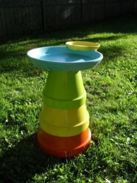 Bird Bath Design Ideas For Your Backyard Inspiration09