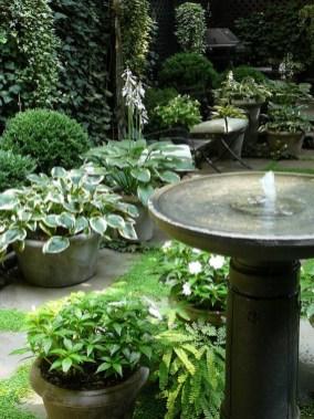 Bird Bath Design Ideas For Your Backyard Inspiration24