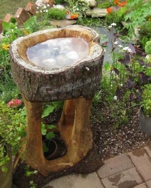 Bird Bath Design Ideas For Your Backyard Inspiration33