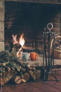 Comfortable Decorating Ideas For Winter32