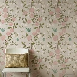 Fabulous Rose Wall Painting Design Ideas For You To Try In Home05
