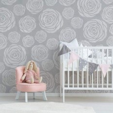 Fabulous Rose Wall Painting Design Ideas For You To Try In Home15