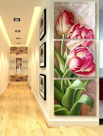 Fabulous Rose Wall Painting Design Ideas For You To Try In Home24