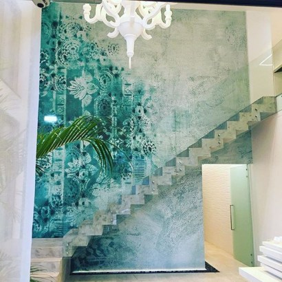 Fabulous Rose Wall Painting Design Ideas For You To Try In Home37