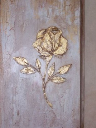 Fabulous Rose Wall Painting Design Ideas For You To Try In Home38