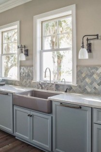 Impressive Gray And Turquoise Color Scheme Ideas For Your Kitchen23