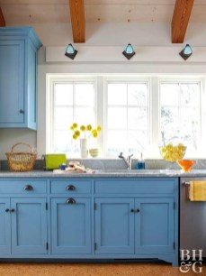 Impressive Gray And Turquoise Color Scheme Ideas For Your Kitchen29