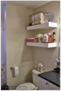 Interesting Floating Wall Shelves For Your Bathroom Style Ideas03