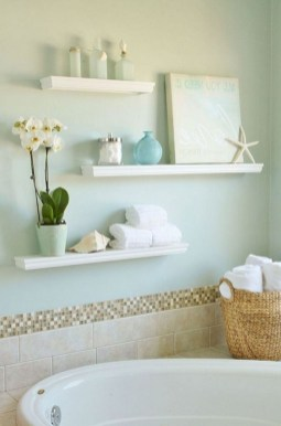 Interesting Floating Wall Shelves For Your Bathroom Style Ideas09