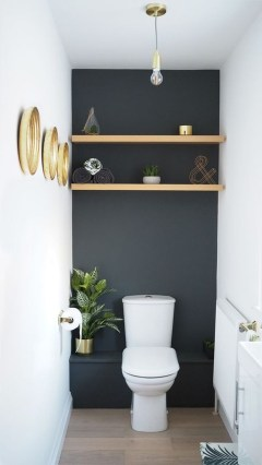 Interesting Floating Wall Shelves For Your Bathroom Style Ideas16
